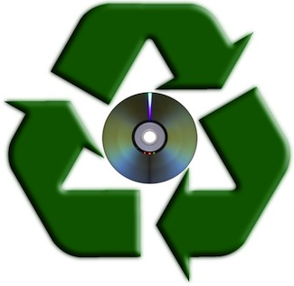 Recycle Used CDs and DVDs